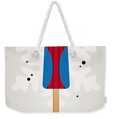 My Superhero Ice Pop - Spiderman Weekender Tote Bag by Chungkong Art