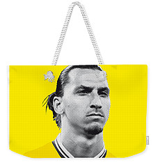 My Zlatan Soccer Legend Poster Weekender Tote Bag by Chungkong Art
