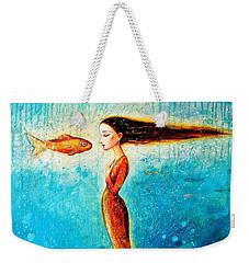 Mystic Mermaid II Weekender Tote Bag by Shijun Munns