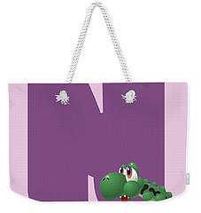 N Weekender Tote Bag by Gina Dsgn