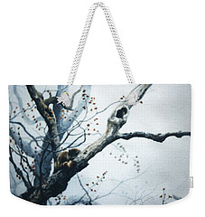 Nap In The Mist Weekender Tote Bag by Hanne Lore Koehler