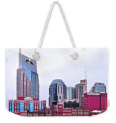 Nashville Close Up Weekender Tote Bag by Frozen in Time Fine Art Photography