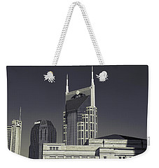 Nashville Tennessee Batman Building Weekender Tote Bag by Dan Sproul