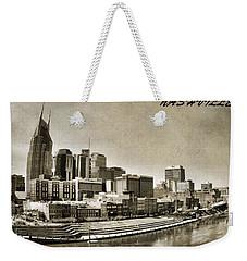 Nashville Tennessee Weekender Tote Bag by Dan Sproul