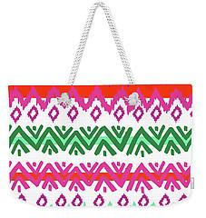 Navajo Mission Round Weekender Tote Bag by Nicholas Biscardi