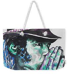 Neil Young Weekender Tote Bag by Chrisann Ellis