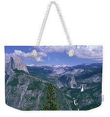 Nevada Fall And Half Dome, Yosemite Weekender Tote Bag by Panoramic Images