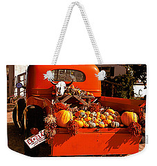 New Mexico Truck Weekender Tote Bag by Jean Noren