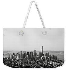 New York City Weekender Tote Bag by Linda Woods