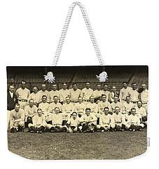New York Yankees 1926 Weekender Tote Bag by Unknown