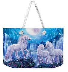 Night Horses Weekender Tote Bag by Jan Patrik Krasny
