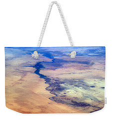 Weekender Tote Bag featuring the photograph Nile River From The Iss by Science Source