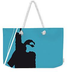 No035 My U2 Minimal Music Poster Weekender Tote Bag by Chungkong Art