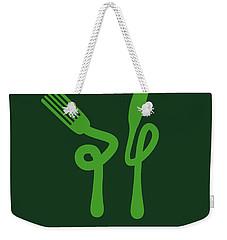 No093 My The Matrix Minimal Movie Poster Weekender Tote Bag by Chungkong Art