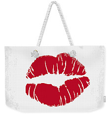 No116 My Some Like It Hot Minimal Movie Poster Weekender Tote Bag by Chungkong Art