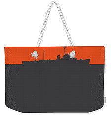 No126 My The Philadelphia Experiment Minimal Movie Poster Weekender Tote Bag by Chungkong Art