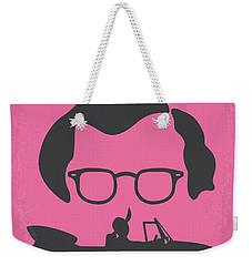 No147 My Annie Hall Minimal Movie Poster Weekender Tote Bag by Chungkong Art