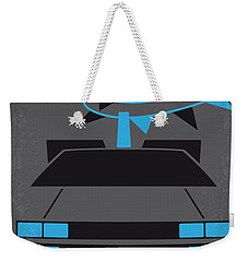 No183 My Back To The Future Minimal Movie Poster-part II Weekender Tote Bag by Chungkong Art