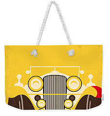 No206 My The Great Gatsby Minimal Movie Poster Weekender Tote Bag by Chungkong Art