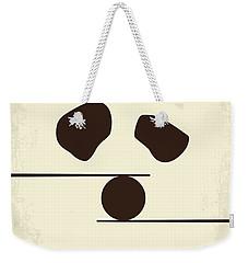 No227 My Kung Fu Panda Minimal Movie Poster Weekender Tote Bag by Chungkong Art