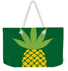 No264 My Pineapple Express Minimal Movie Poster Weekender Tote Bag by Chungkong Art