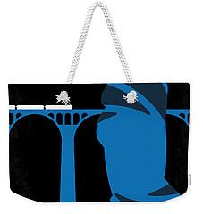 No277-007-2 My Skyfall Minimal Movie Poster Weekender Tote Bag by Chungkong Art