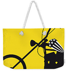 No333 My Easy Rider Minimal Movie Poster Weekender Tote Bag by Chungkong Art