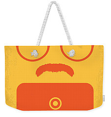 No372 My Her Minimal Movie Poster Weekender Tote Bag by Chungkong Art
