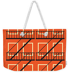 No387 My West Side Story Minimal Movie Poster Weekender Tote Bag by Chungkong Art