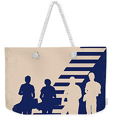 No429 My Stand By Me Minimal Movie Poster Weekender Tote Bag by Chungkong Art