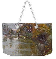 November 4th At Hyde Park Weekender Tote Bag by Ylli Haruni