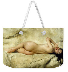Nude Weekender Tote Bag by Giacomo Grosso