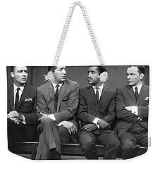 Ocean's Eleven Rat Pack Weekender Tote Bag by Underwood Archives