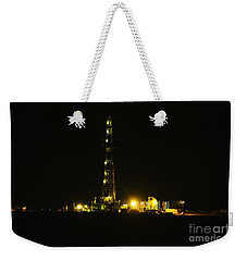 Oil Rig Weekender Tote Bag by Jeff Swan