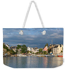Old Bridge Over The Sea, Le Bono, Gulf Weekender Tote Bag by Panoramic Images