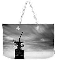 Old Crane Weekender Tote Bag by Dave Bowman