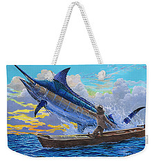 Old Man's Battle Off00133 Weekender Tote Bag by Carey Chen
