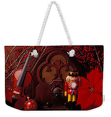 Old Raido And Christmas Nutcracker Weekender Tote Bag by Garry Gay