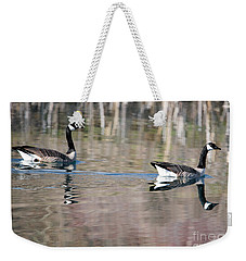 On Golden Pond Weekender Tote Bag by Mike Dawson