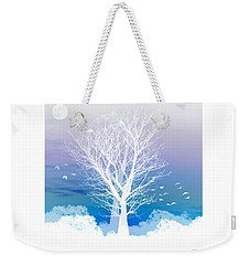 Once Upon A Moon Lit Night... Weekender Tote Bag by Holly Kempe
