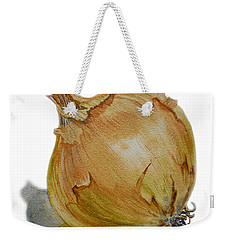 Onion Weekender Tote Bag by Irina Sztukowski