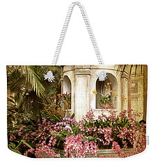 Orchid Exhibition Weekender Tote Bag by Jessica Jenney