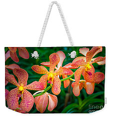 Orchids Weekender Tote Bag by Inge Johnsson