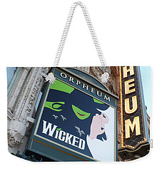 Orpheum Sign Weekender Tote Bag by Carol Groenen
