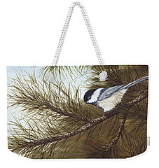 Out On A Limb Weekender Tote Bag by Rick Bainbridge