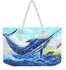 Outrageous Off00129 Weekender Tote Bag by Carey Chen