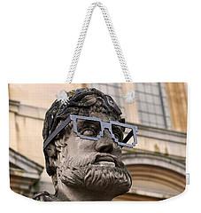 Oxford Geek Weekender Tote Bag by Rona Black