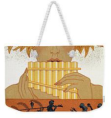 Pan Piper Weekender Tote Bag by Georges Barbier