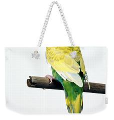 Parakeet Weekender Tote Bag by Aaron Haupt
