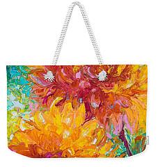 Passion Weekender Tote Bag by Talya Johnson